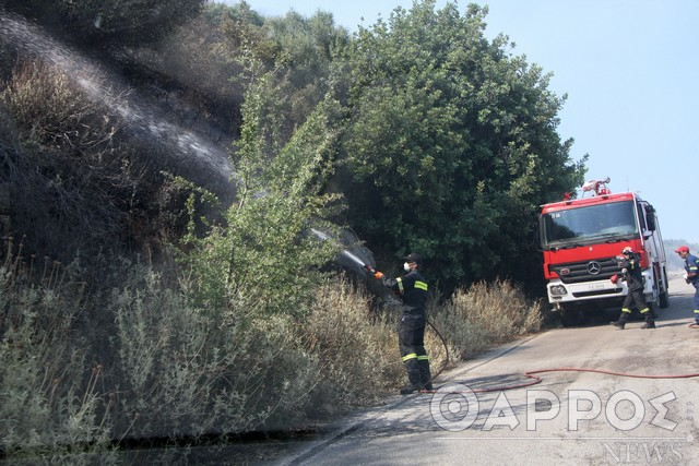 Στο… κόκκινο σήμερα η Μεσσηνία λόγω υψηλού κινδύνου πυρκαγιάς