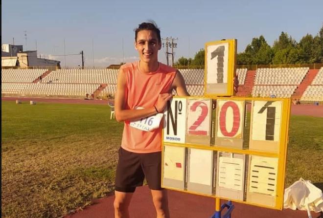Μεσσηνιακός: Πρωταθλητής Ελλάδος με κορυφαία επίδοση 2,01 στο ύψος ο Ζαχαρέας