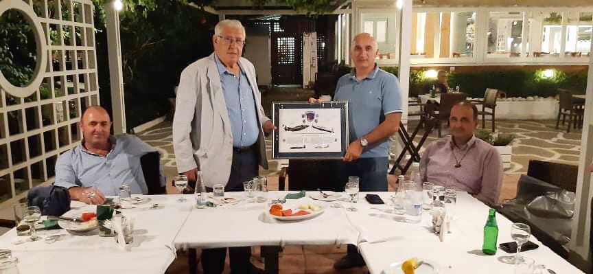Δείπνο του Συνδέσμου Εφέδρων Αξιωματικών Μεσσηνίας προς τιμήν του διοικητή της 120 ΠΕΑ