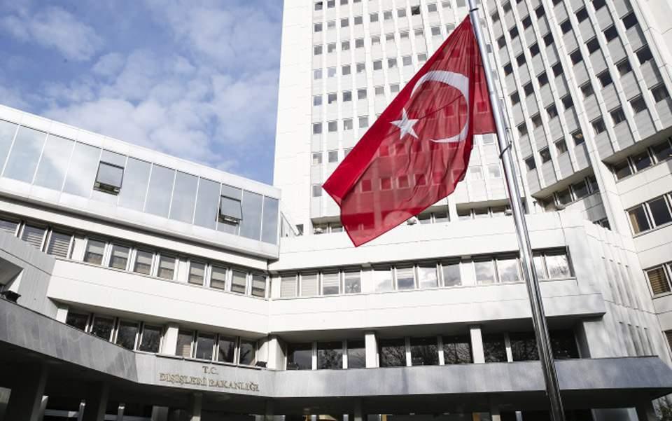 Τουρκικό ΥΠΕΞ: Να ξυπνήσει η Ελλάδα από το όνειρο του Βυζαντίου