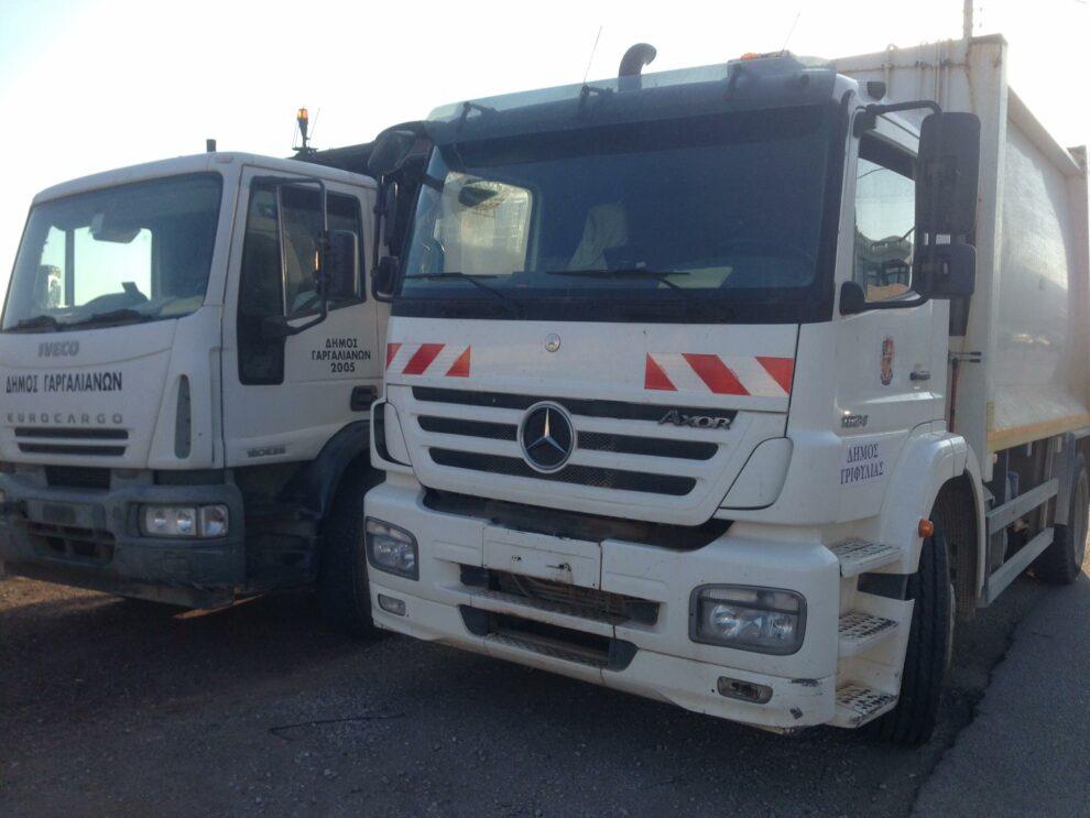 Στο Α.Τ. Κυπαρισσίας οδηγοί απορριμματοφόρων που άδειασαν στην παράνομη χωματερή στο Αλιμάκι