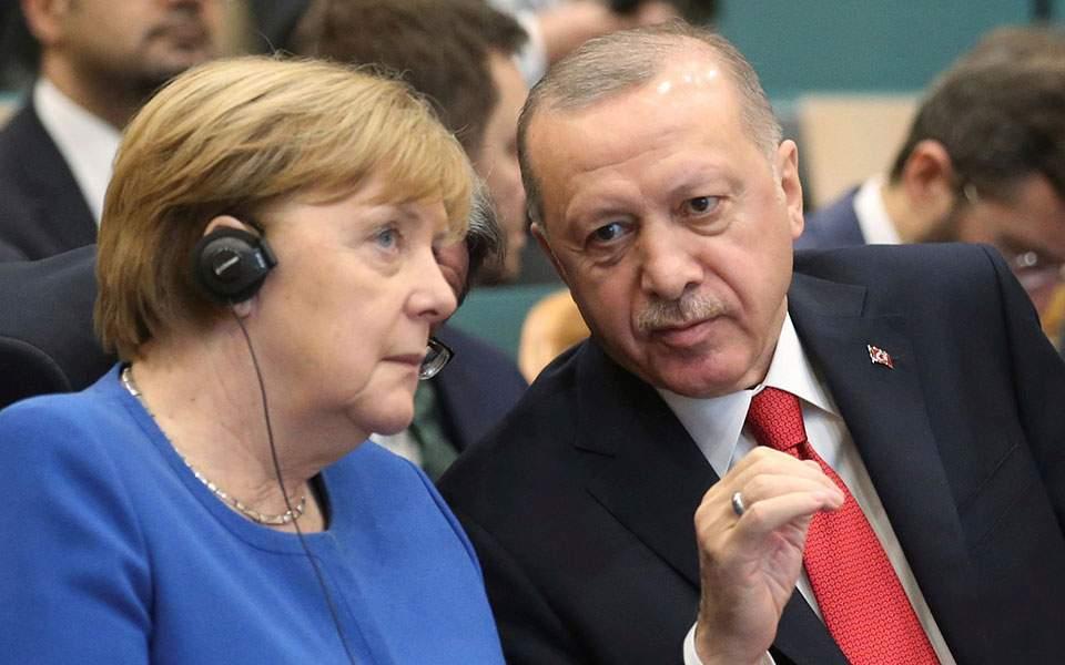 Τηλεφωνική επικοινωνία  Αγκελα Μέρκελ – Ρετζέπ Ταγίπ Ερντογάν