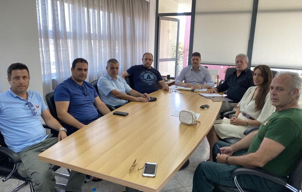 Συνάντηση στο Δήμο Μεσσήνης για αρμοδιότητες  και ρόλο Δημοτικής Αστυνομίας