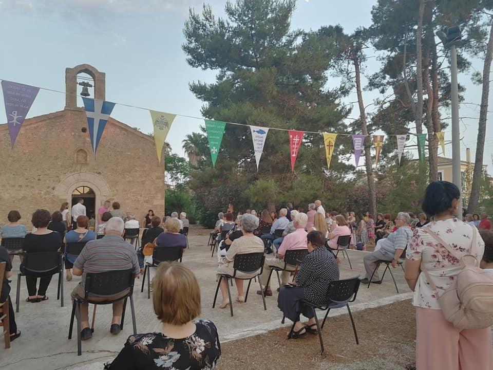 Φιλιατρά: Με ευλάβεια ο εορτασμός στην  Παναγία τη Βλαχέρνα