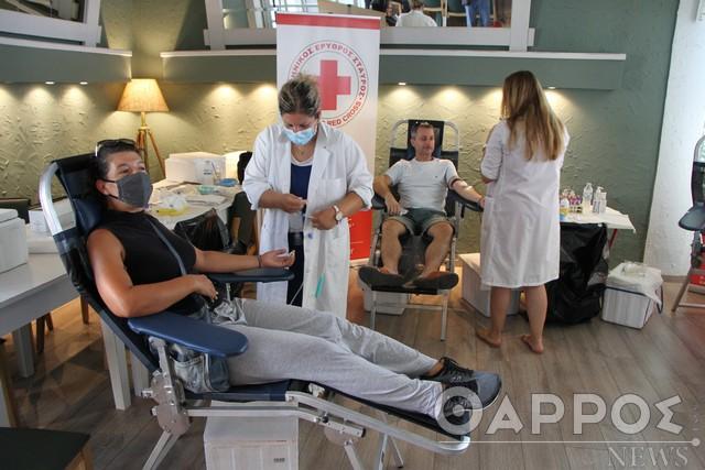 Καλαμάτα: Συνεχίζεται σήμερα η αιμοδοσία του Ερυθρού Σταυρού στο ΝΟΚ