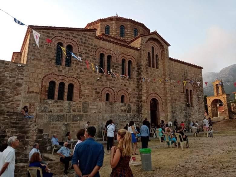 Με μάσκες  ο εορτασμός της Μεταμορφώσεως του Σωτήρος στη Χριστιανούπολη