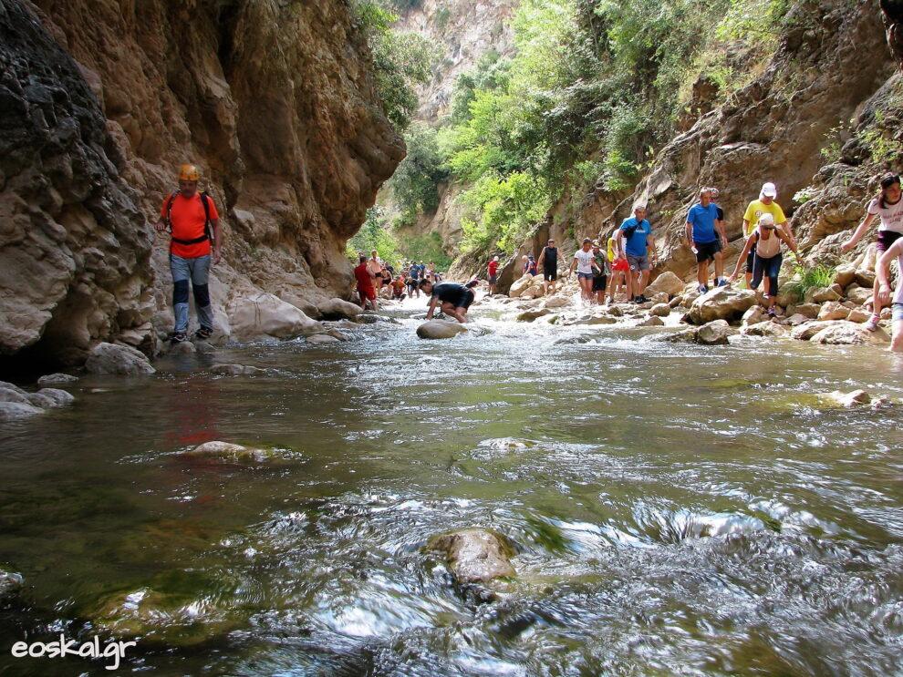 Εξόρμηση στη Νέδα με τον Ορειβατικό Σύλλογο Καλαμάτας