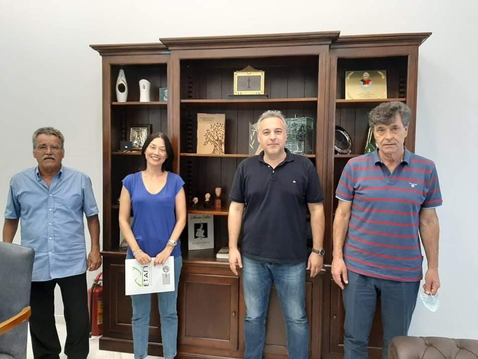 Η Ν. Γιαννακοπούλου κοντά στα προβλήματα των επιχειρηματιών της Μεσσηνίας