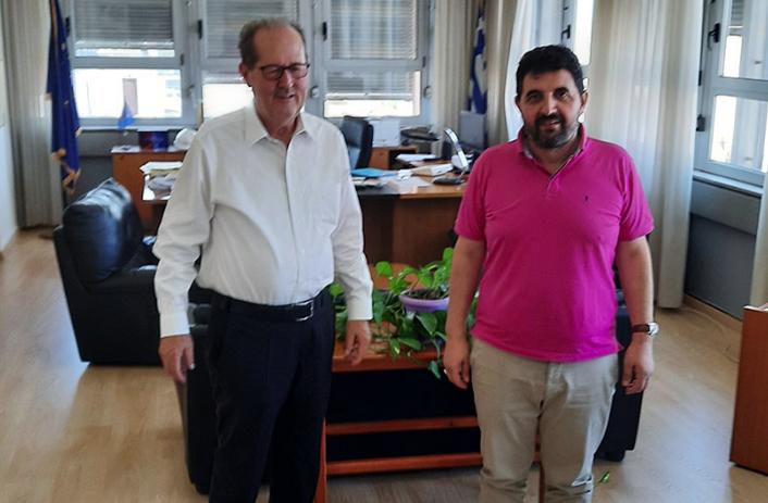 Στον ΟΣΕ χθες ο Π. Νίκας  για τη γραμμή Άργος – Καλαμάτα
