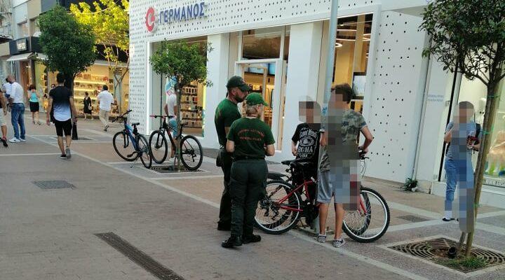 Καλαμάτα: Συστάσεις της Δημοτικής Αστυνομίας σε ποδηλάτες
