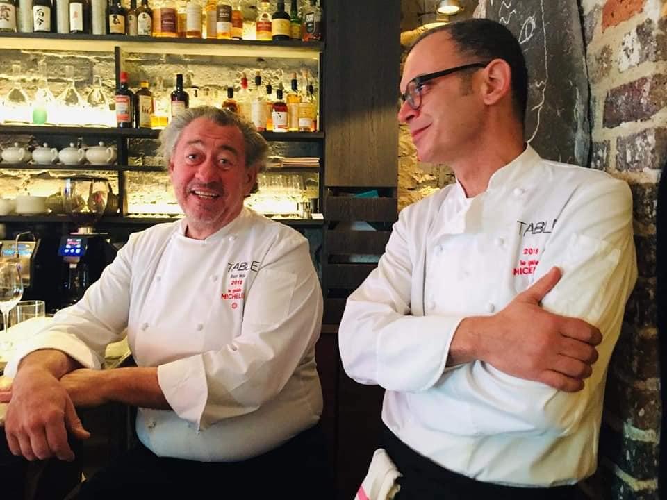 O διάσημος Γάλλος σεφ Bruno Verjus μαγειρεύει  στις «Βερσαλλίες»… της Καλαμάτας