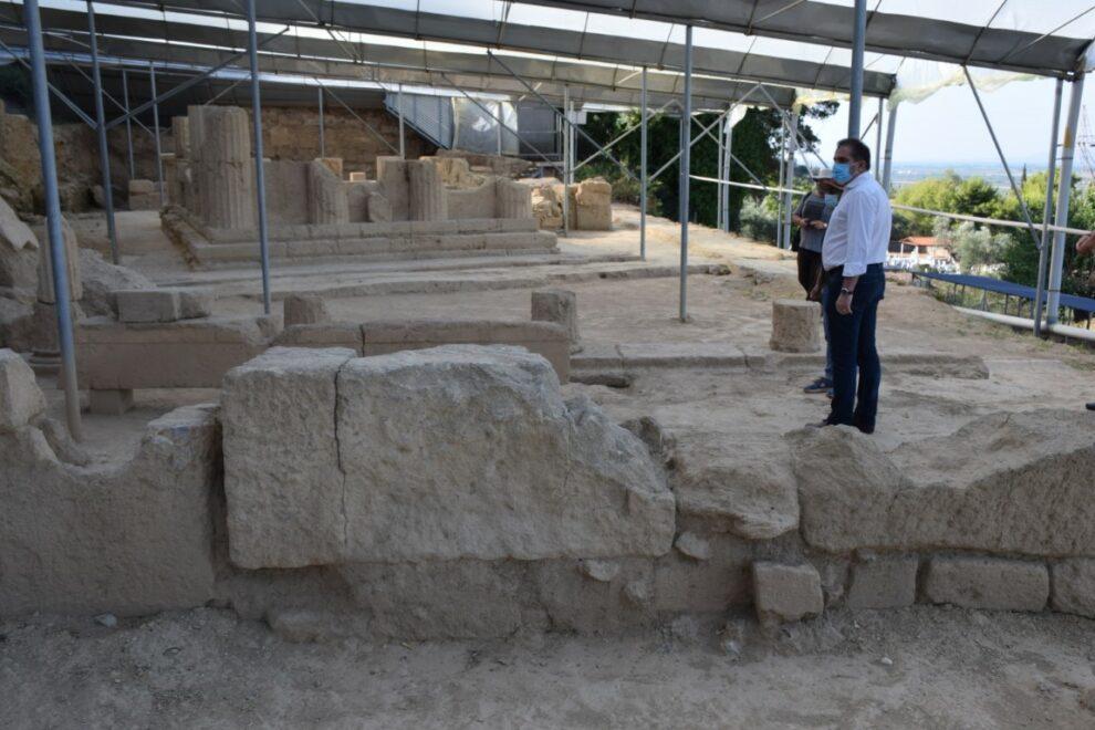 Αρχαία Θουρία: Ο Δήμος Καλαμάτας στηρίζει με πράξεις το ανασκαφικό έργο