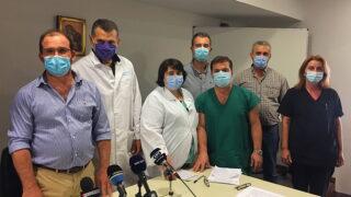 """Επισφαλής η λειτουργία του Νοσοκομείου Καλαμάτας ως """"Covid 19"""" υπό τις υπάρχουσες συνθήκες τονίζει το ιατρικό προσωπικό"""