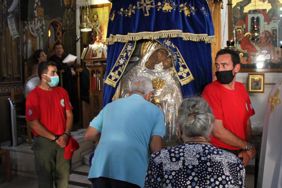 Η Καλαμάτα υποδέχθηκε την εικόνα της Παναγίας Δημιοβίτισσας
