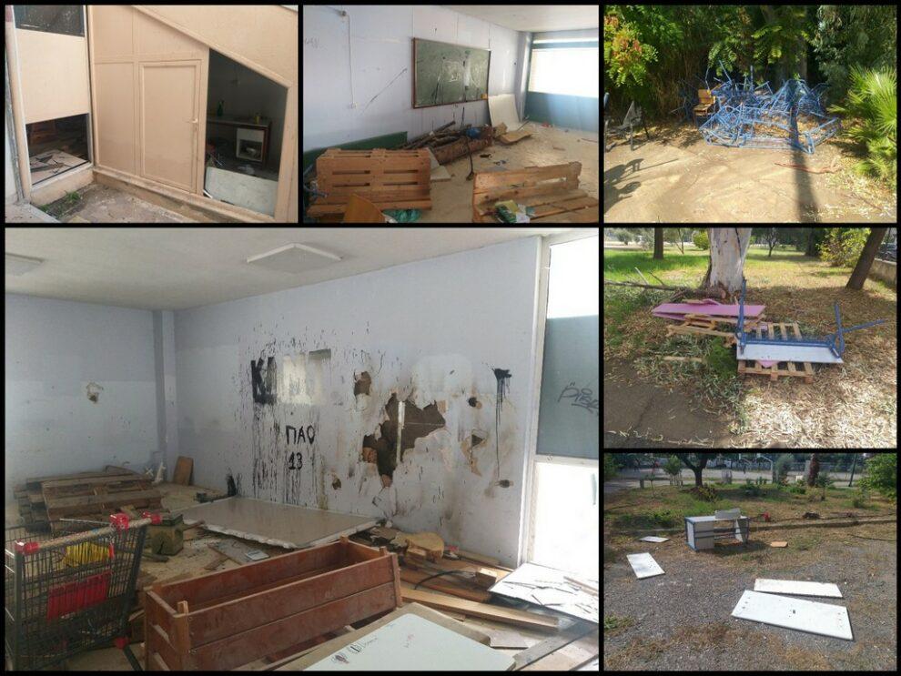 Κλοπές και καταστροφές στο  συγκρότημα των ΕΠΑΛ στην Κρήτης