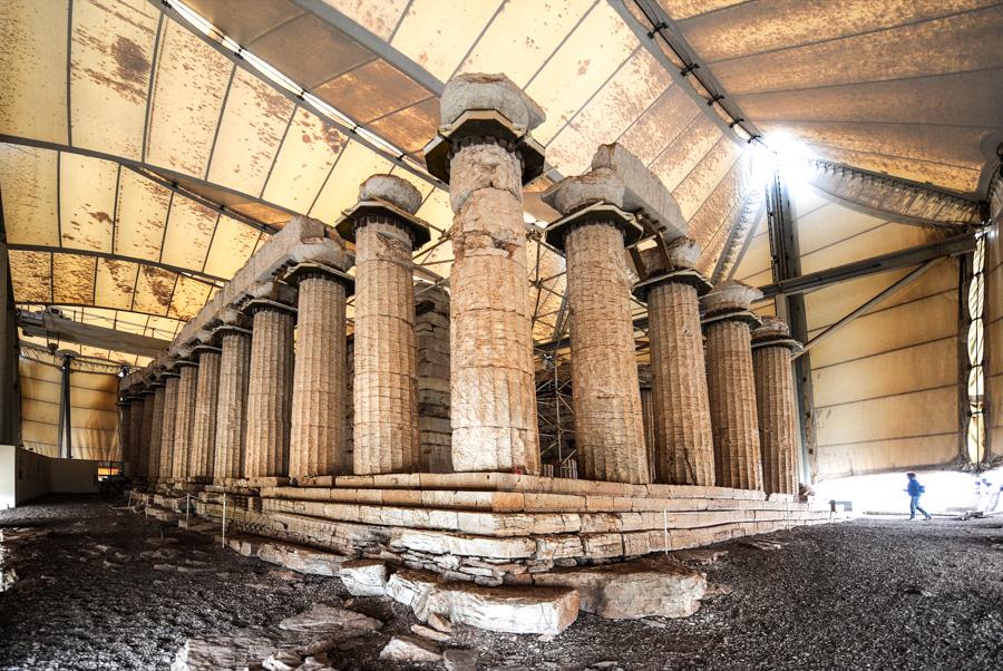 Πεζοπορία στο ναό Επικούριου Απόλλωνα