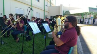 Νοσοκομείο Καλαμάτας: Η Δημοτική Φιλαρμονική ευχαρίστησε τους εργαζομένους με μουσική εκδήλωση