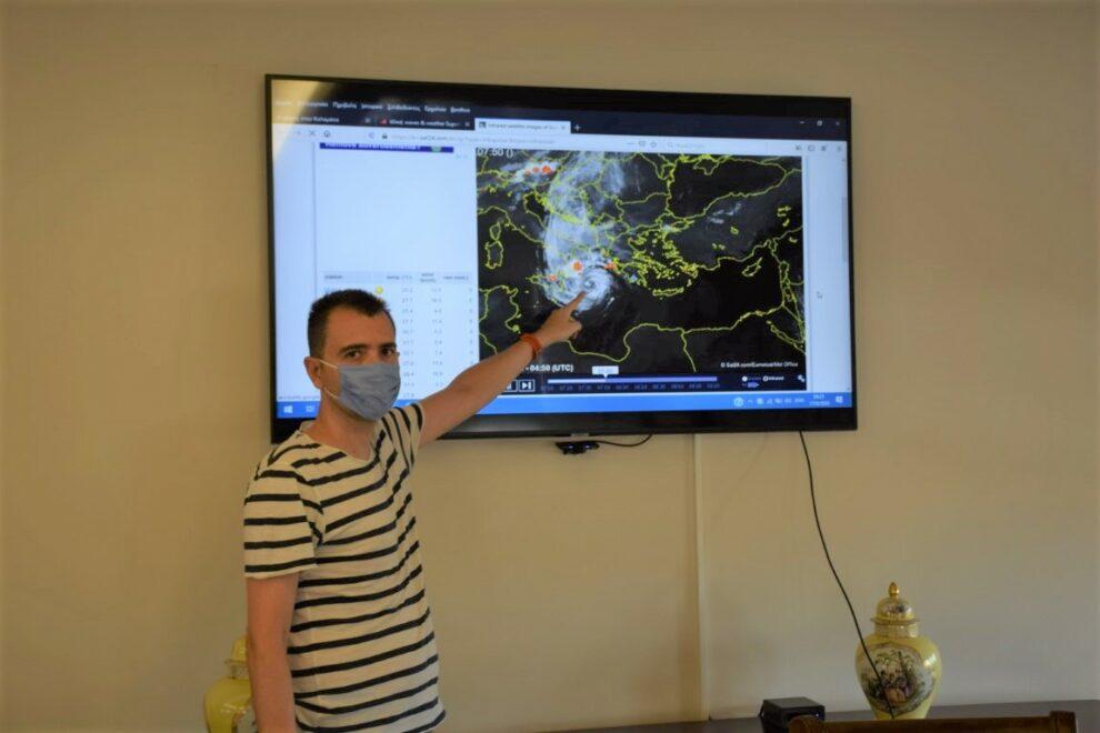 Δήμος Καλαμάτας: Διαρκής ενημέρωση και προετοιμασία για την κακοκαιρία «Ιανός»