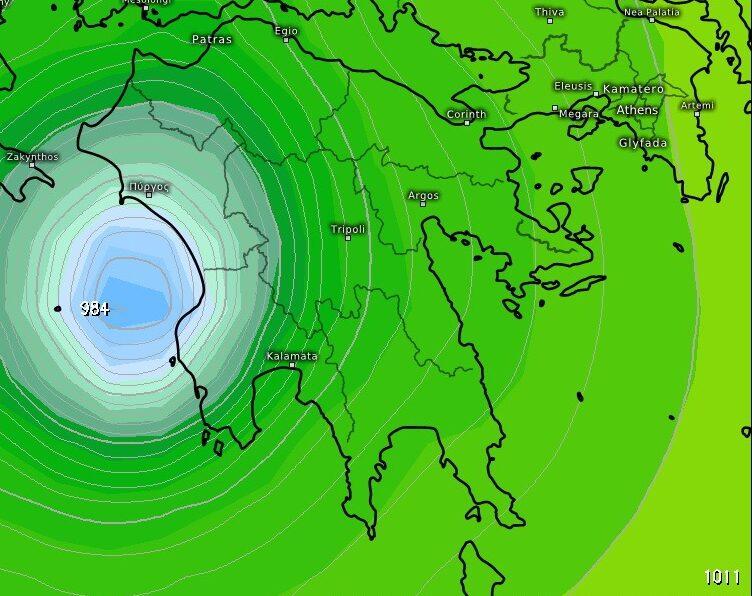 Μεγάλη προσοχή, δύσκολα 24ωρα πλησιάζουν στη Μεσσηνία