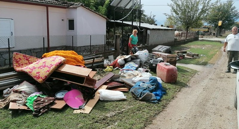 Δήμος Οιχαλίας: Συγκέντρωση ειδών για τους  πληγέντες στο Δήμο Μουζακίου