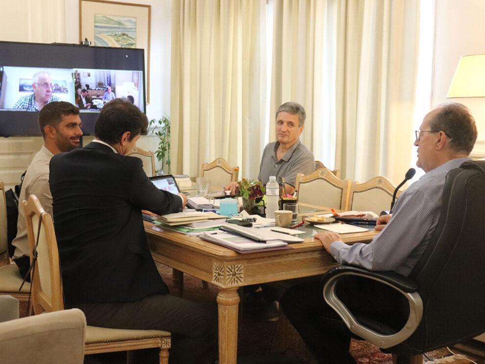 Συνεργασίες Περιφέρειας με Ίδρυμα Κωνσταντακόπουλου και Γεωργική Σχολή Θεσσαλονίκης