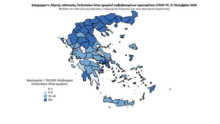 Κορωνοϊός: 8 νέα κρούσματα στη Μεσσηνία – Δείτε τη γεωγραφική κατανομή