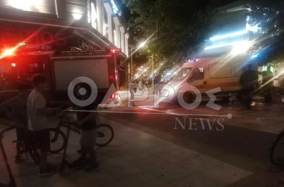 Σοβαρός τραυματισμός  παιδιού στην κεντρική πλατεία Καλαμάτας