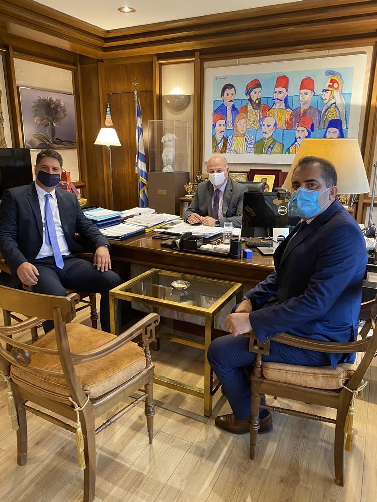 Με τον υπουργό δικαιοσύνης συναντήθηκαν οι δήμαρχοι Καλαμάτας και Μεσσήνης για την παραβατικότητα στην περιοχή