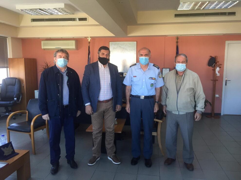 Επίσκεψη σε Γενική Περιφερειακή Αστυνομική Διεύθυνση Πελοποννήσου της Ένωσης Προέδρων Κοινοτήτων Μεσσηνίας
