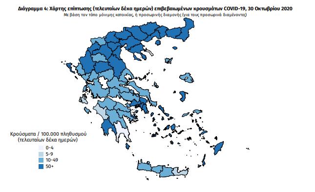 Κορωνοϊός: 38 νέα κρούσματα στη Μεσσηνία – Η γεωγραφική κατανομή