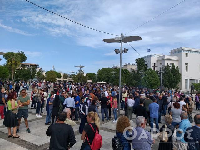 Μεσσήνη: Μεγάλη σιωπηλή διαμαρτυρία πολιτών κατά της παραβατικότητας των Ρομά