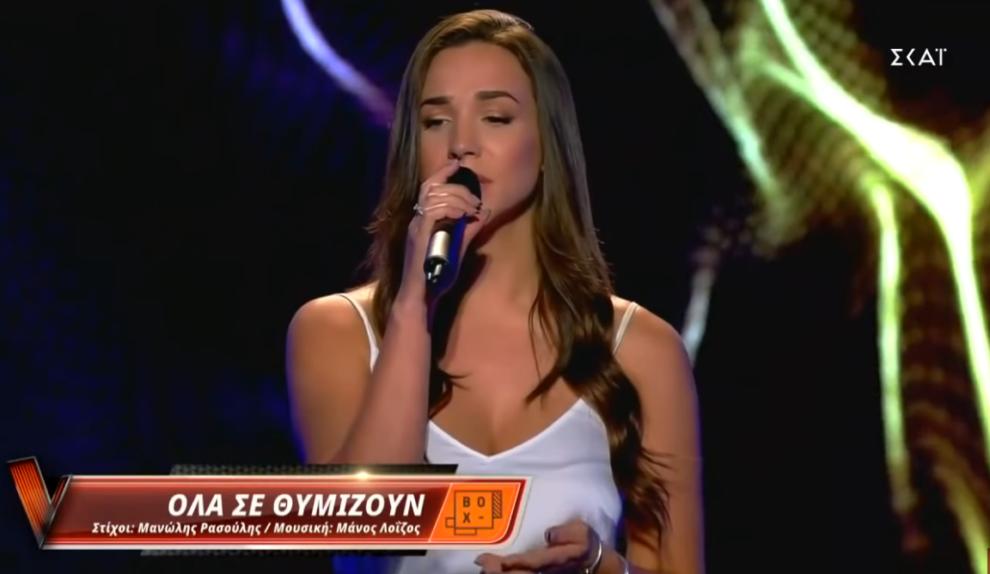 """Εντυπωσίασε του κριτές του """"The Voice of Greece"""" η Καλαματιανή Άννα Σακκά"""