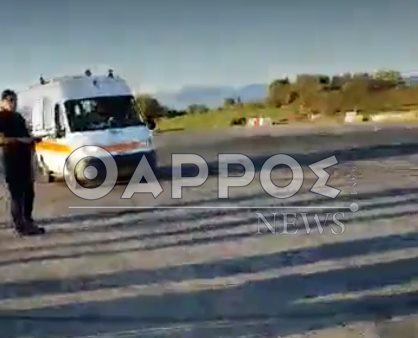 Σοβαρός τραυματισμός νεαρού σε τροχαίο ατύχημα στο παλιό αεροδρόμιο της Τριόδου!