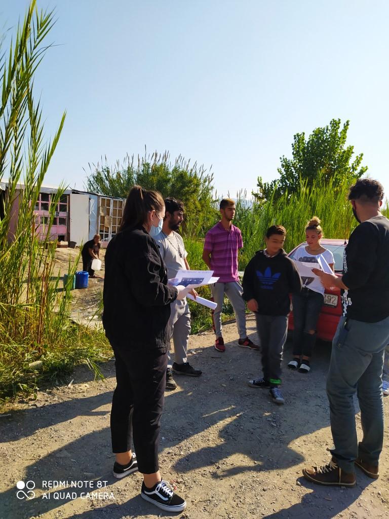 Το Κέντρο Κοινότητας σε καταυλισμούς Ρομά