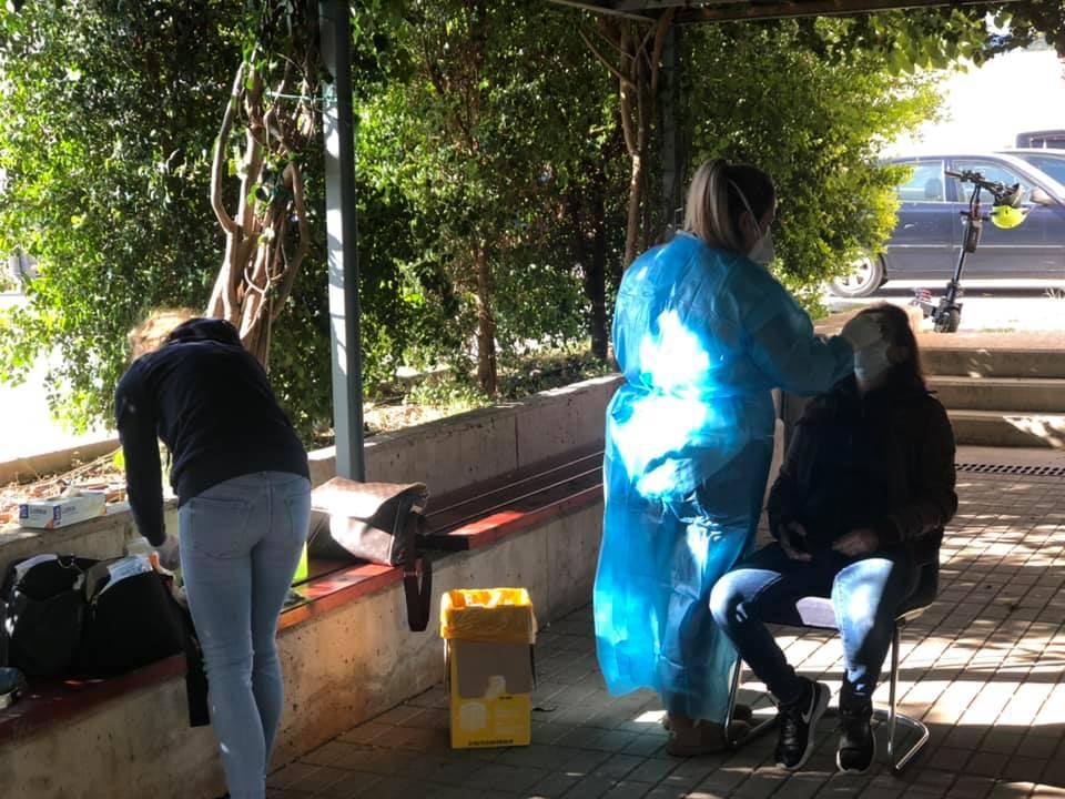 Συνεχίζονται οι δειγματοληπτικοί  έλεγχοι για Covid-19 στο Δήμο Καλαμάτας