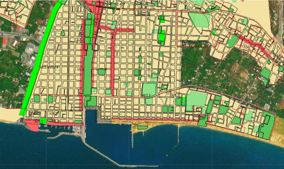 Ανάπτυξη υποδομής  G.I.S. στο Δήμο Καλαμάτας – Με έμφαση στον εκσυγχρονισμό της πολεοδομίας