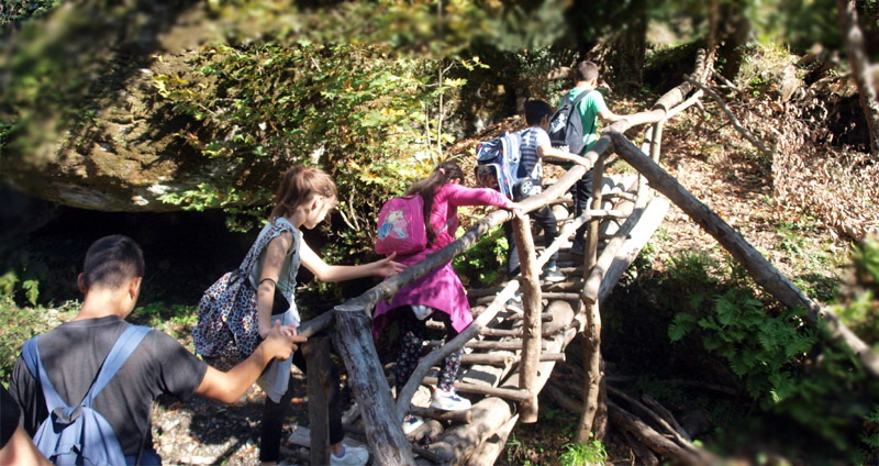Τα Παιδικά Χωριά SOS εγκαινίασαν το «κυκλικό μονοπάτι της Αλαγονίας» στον εκπαιδευτικό δρυμό Ταϋγέτου