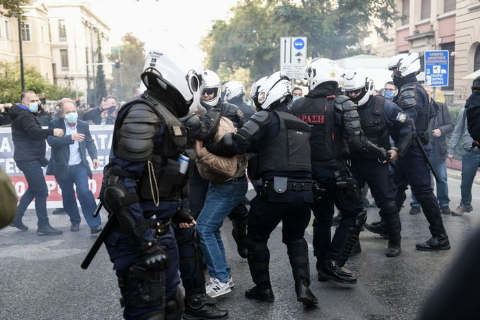 Ανακοίνωση της Αστυνομίας για τα σημερινά επεισόδια στην Αθήνα