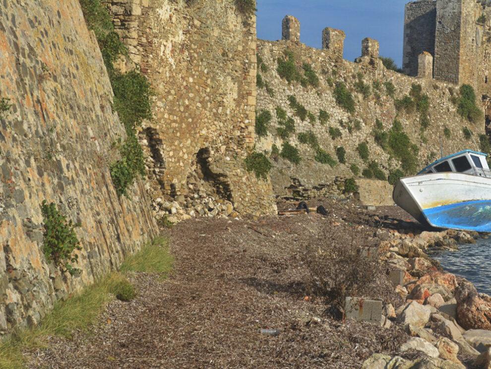 Πρωτοβουλίες για το Κάστρο της Μεθώνης εξήγγειλε ο περιφερειάρχης Πελοποννήσου