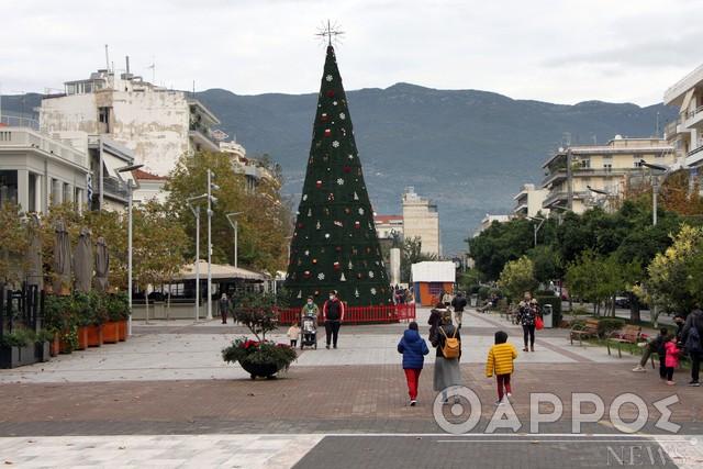 Ο καιρός στην Καλαμάτα αύριο Χριστούγεννα
