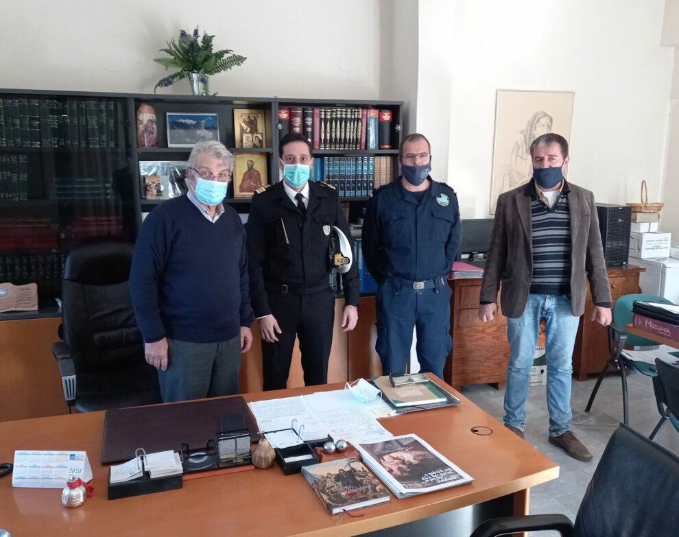 Συνάντηση εργασίας στο Δήμο Δυτικής Μάνης για το νέο  θεσμικό πλαίσιο ασφάλειας λουομένων