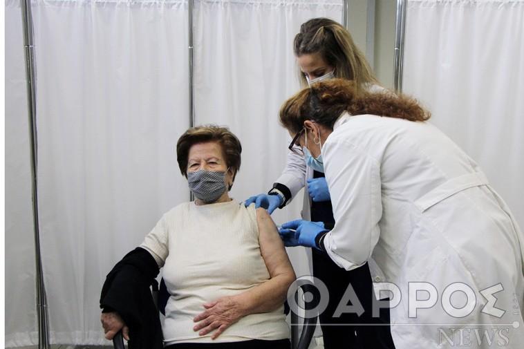 3 νέα κρούσματα στη Μεσσηνία – 1.355 εμβολιασμοί μέχρι χθες