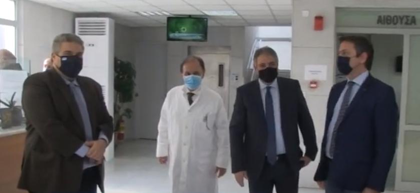Απόλυτα ικανοποιημένος από ετοιμότητα Κέντρου Υγείας Καλαμάτας για τον εμβολιασμό ο διοικητής της 6ης ΥΠΕ