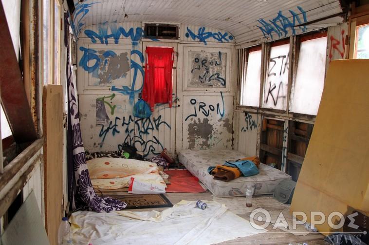 Τρένα Πάρκου ΟΣΕ: Αποθήκες ανθρώπινων ψυχών τα μουσειακά  εκθέματα λόγω αδιαφορίας
