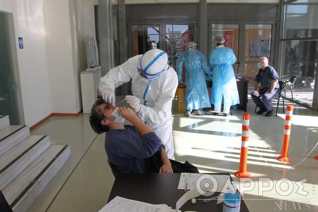 """Δύο νέα κρούσματα κορωνοϊού στη Μεσσηνία – 1.500 """"rapid test"""" έκαναν τα κλιμάκια του ΕΟΔΥ την εβδομάδα που πέρασε"""