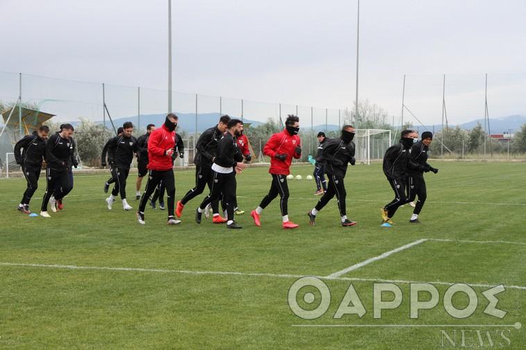 Ξεκίνησαν οι προπονήσεις της Καλαμάτας – Ομόφωνη πρόταση για έναρξη του πρωταθλήματος 28 Μαρτίου