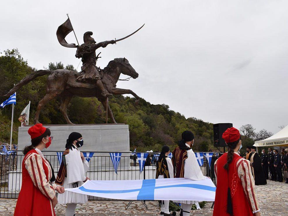Εορτασμός εμβληματικού ήρωα Θεόδωρου Κολοκοτρώνη στο Ραμοβούνι