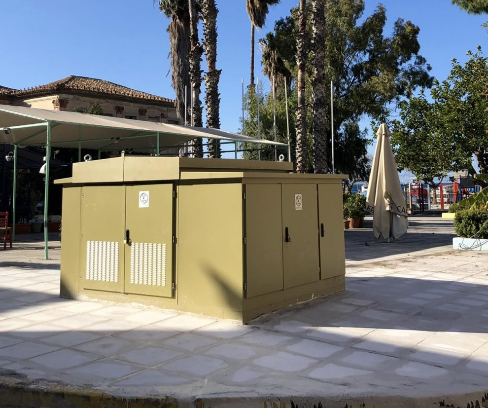 Ολοκληρώθηκε το έργο υπογειοποίιησης  εναέριων καλωδίων της ΔΕΗ στην Κορώνη
