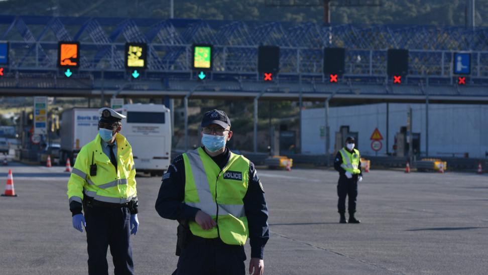 Χιλιάδες ελέγχους στα διόδια Πελοποννήσου σύμφωνα με τα στοιχεία της αστυνομίας