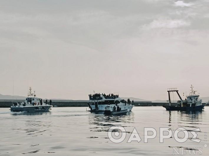 Διασώθηκαν 150 μετανάστες από τη Σχίζα και μεταφέρθηκαν στα Χανιά